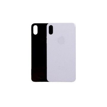Vitre Arrière  iPhone X Noire