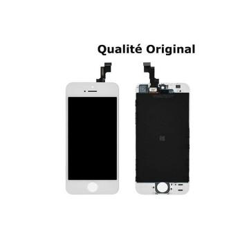Écran(LCD)iPhone 5S Blanc...