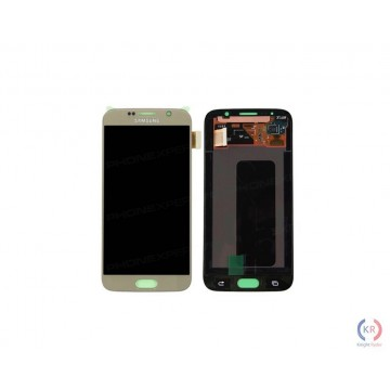Écran(LCD) SM Galaxy S6 Or