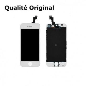 Écran(LCD)iPhone SE Blanc...