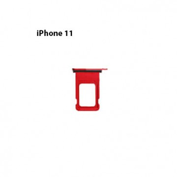 Tiroire Sim iPhone 11 Rouge