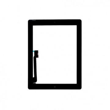 Vitre tactile iPad 3/4 Noir